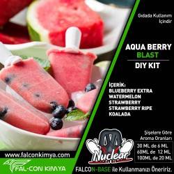AQUA BERRY BLAST  30 - 60 - 100 ML DIYKIT