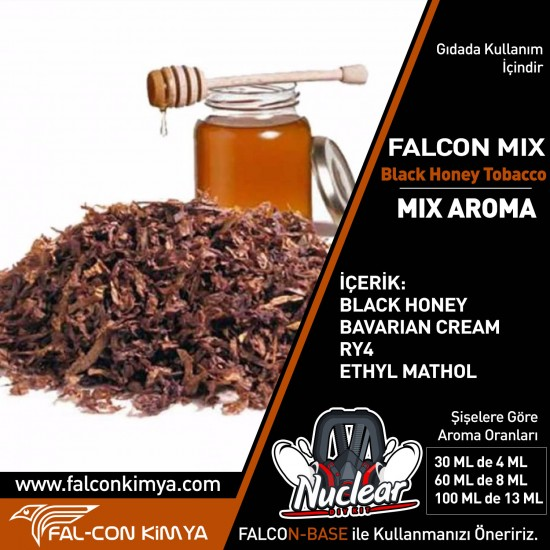 BLACK HONEY TOBACCO 30 - 60 ML DIY-KIT