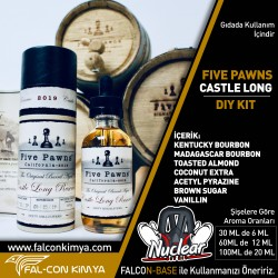 FİVE PAWNS - CASTLE LONG 30 - 60 - 100 ML DIY-KIT