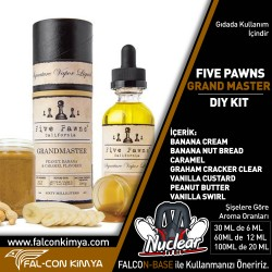 FİVE PAWNS - GRANDMASTER 30 - 60 - 100 ML DIY-KIT
