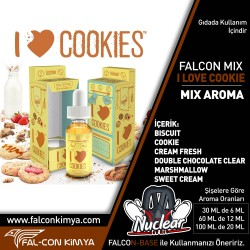 I LOVE COOKIE 30 - 60 - 100 ML DIY-KIT