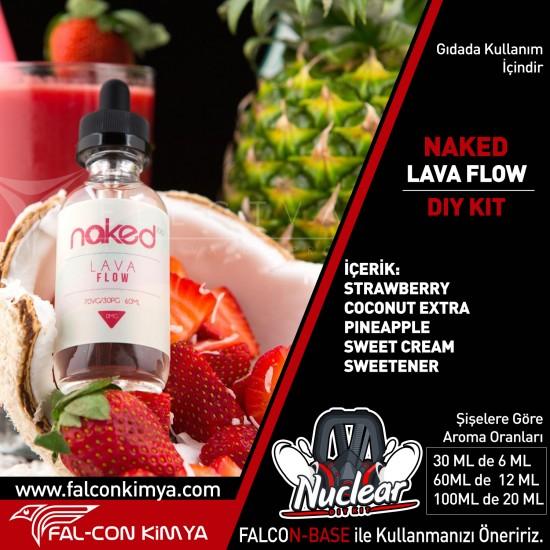 NAKED - LAVA FLOW 30 - 60 - 100 ML DIY-KIT