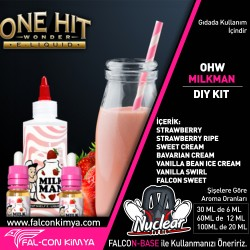 ONE HİT WONDER - MİLKMAN 30 - 60 - 100 ML DIY-KIT
