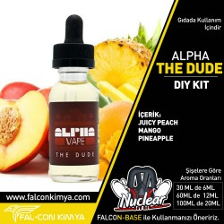 ALPHA - THE DUDE 30 - 60 - 100 ML DIY-KIT