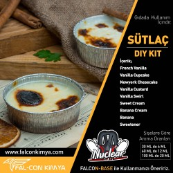 SÜTLAÇ 30 - 60 - 100 ML DIY-KIT