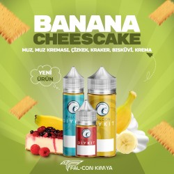 BANANA CHESECAKE 30 - 60 - 100 ML DIY-KIT